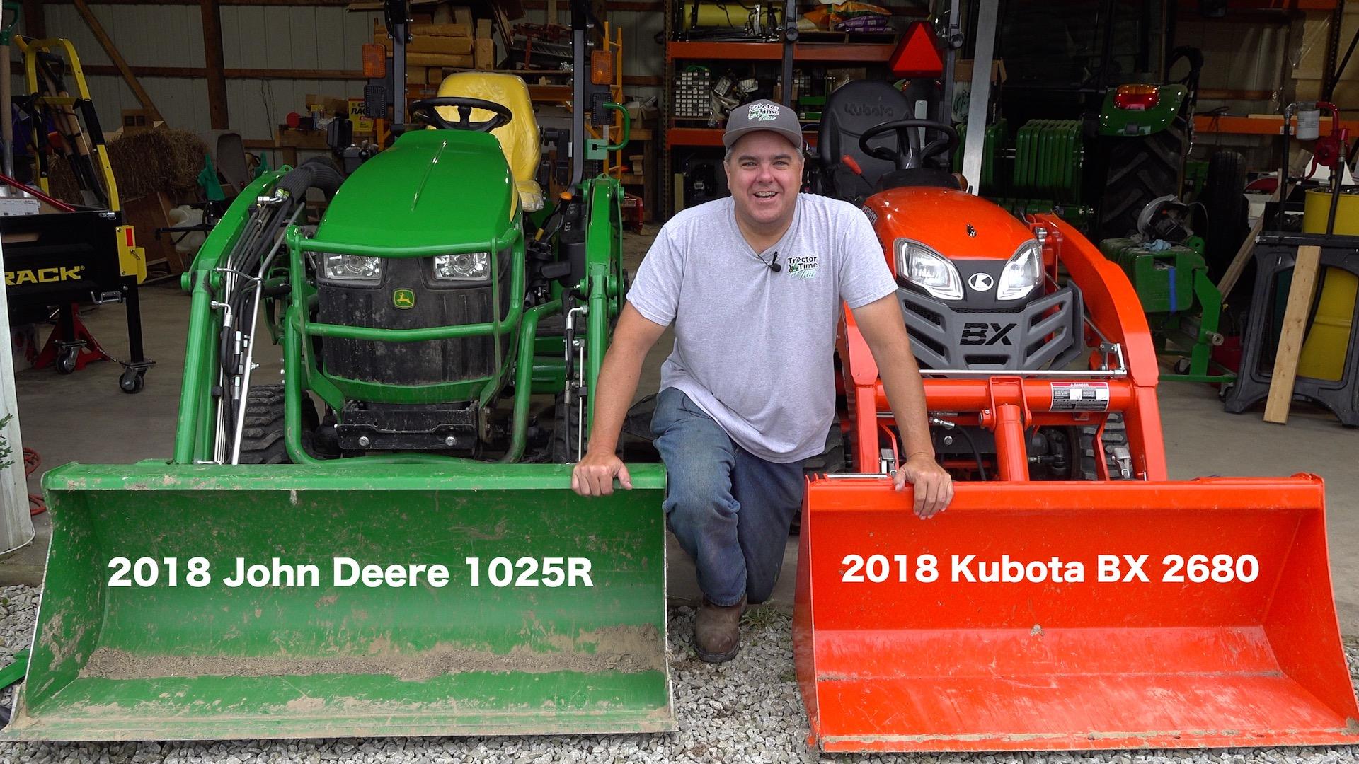 Kubota BX vs. John Deere 1025R